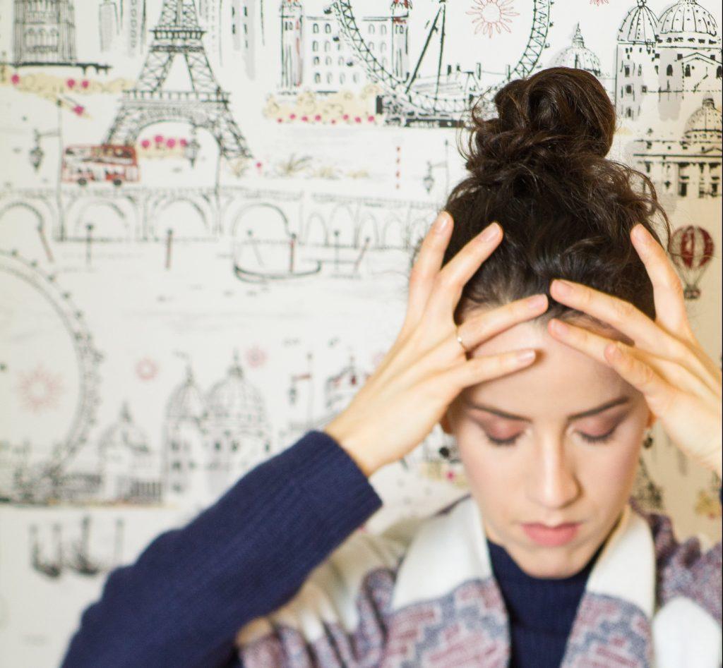 kimono headache top knot