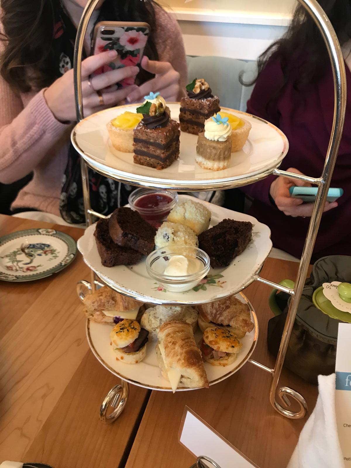 Blog Pod Fancy Tea at The Secret Garden Tea House •