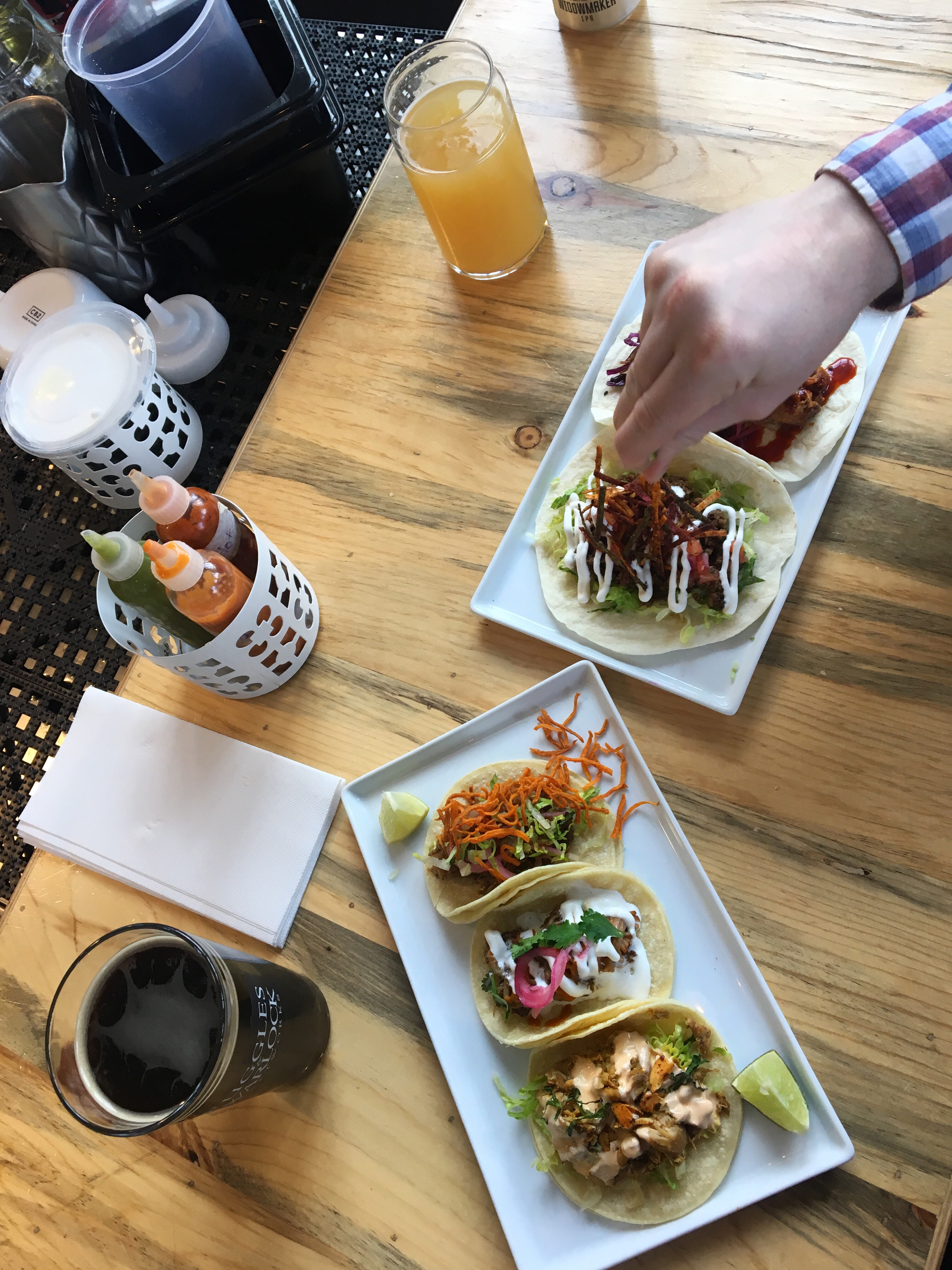 Beer and tacos Port Moody