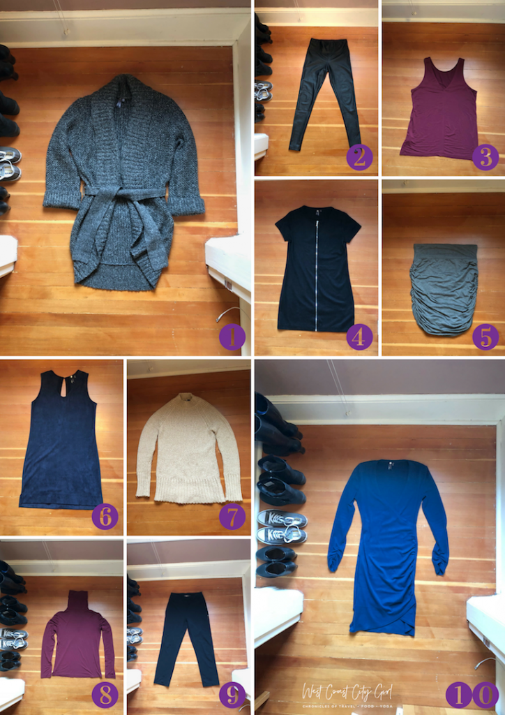 Orb clothing capsule wardrobe