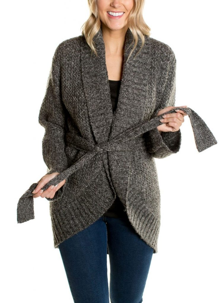 Brie Belted Cardigan