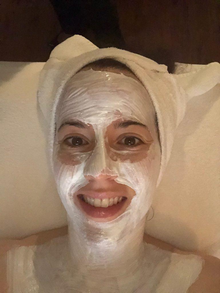 Cinnamon enzyme facial Vancouver spa