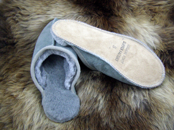 Slippers hygge cozy