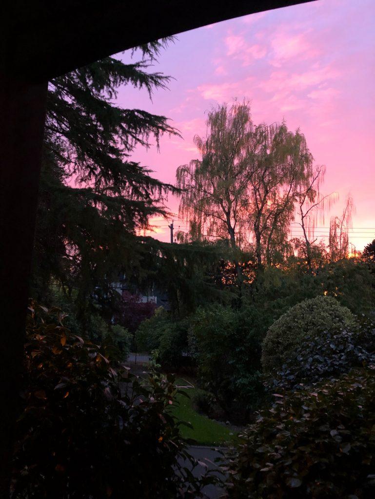 sunset Victoria