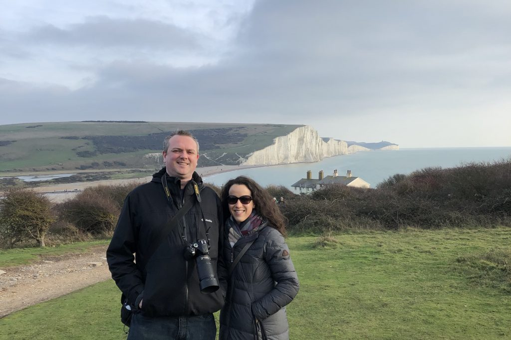 Seven Sisters Sussex chalk hills