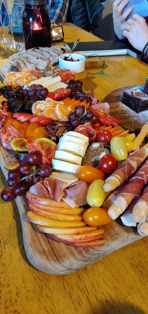 Charcuterie feast