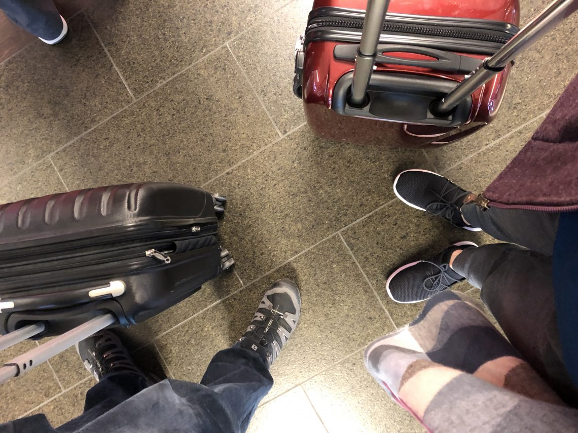 travel couple feet