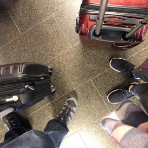 travel couple feet