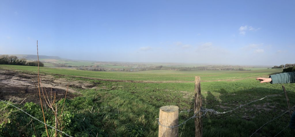 English countryside pano