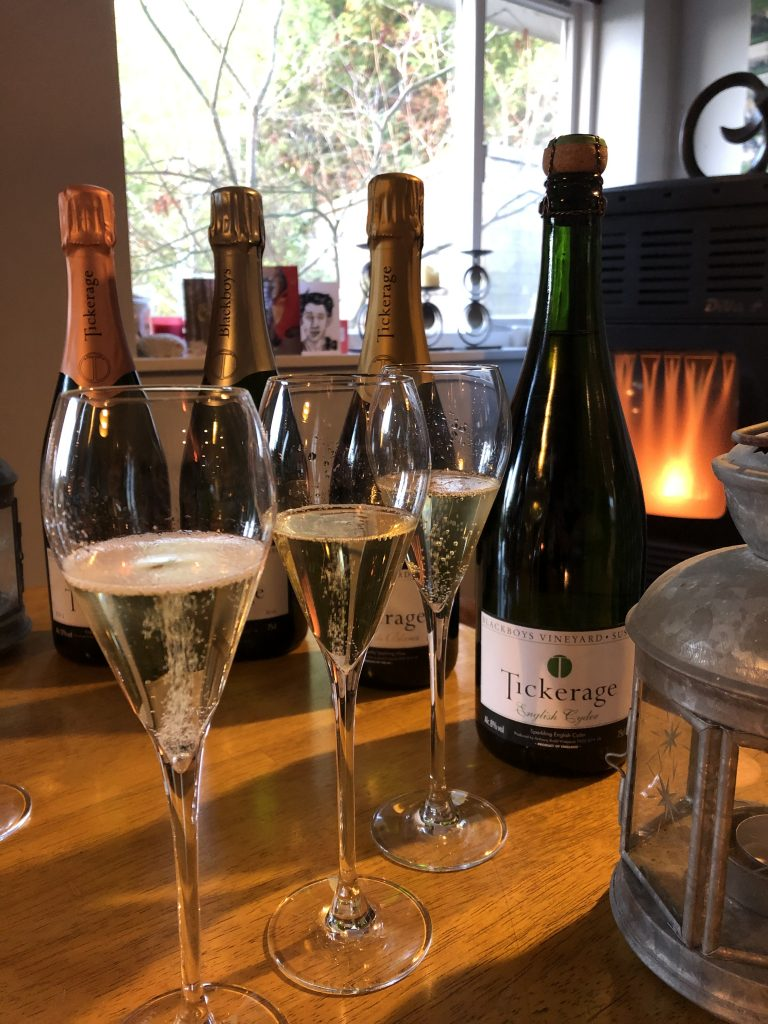 East Sussex sparkling wine