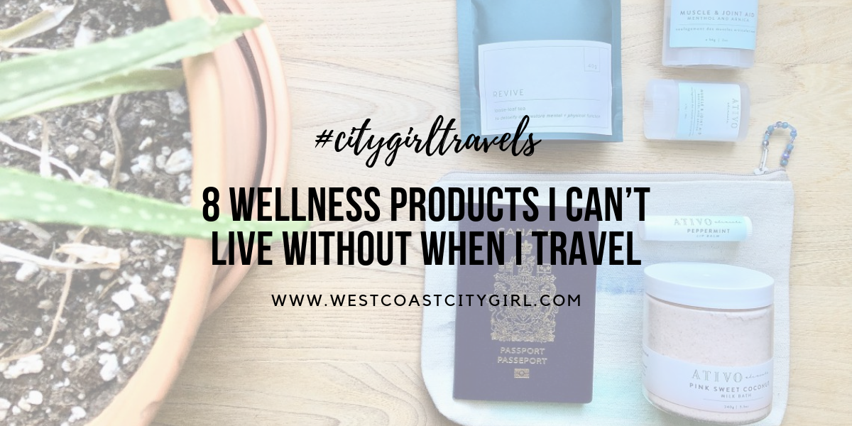 Wellness travel essentials
