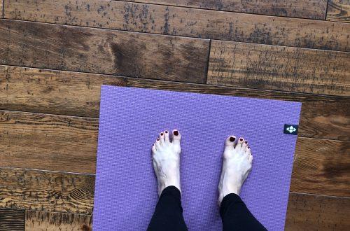 yoga mat cabin