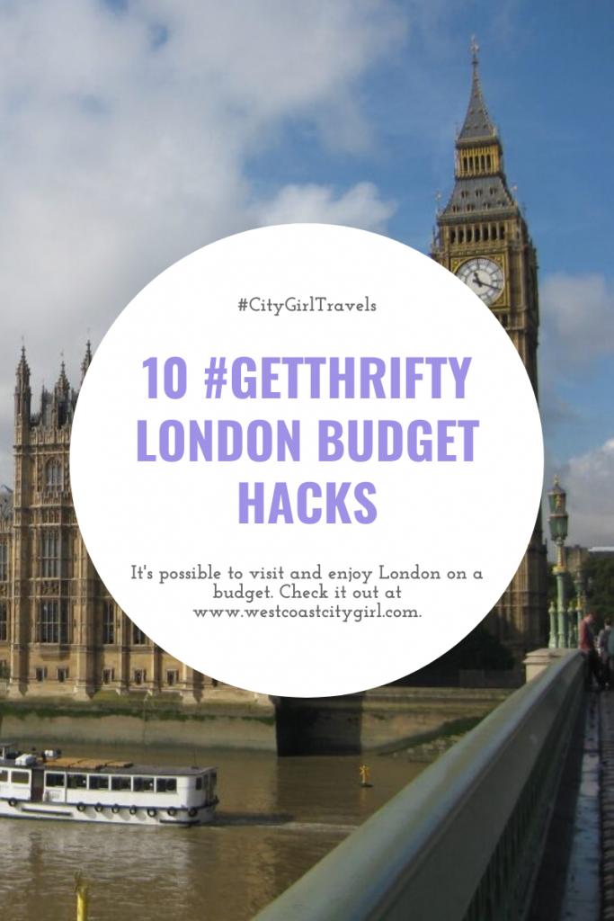 London budget hacks