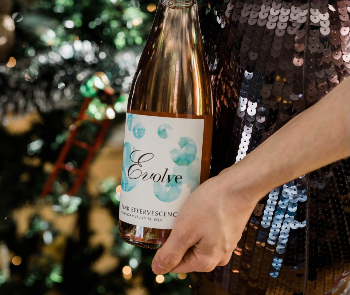 Affordable holiday wines Evolve Cellars pink