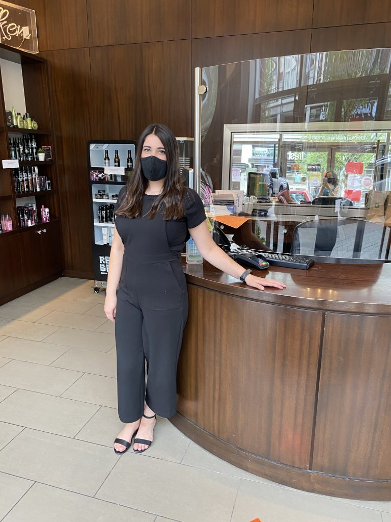 My pandemic haircut experience at Refresh Salon by Yasmine Hardcastle West Coast City Girl